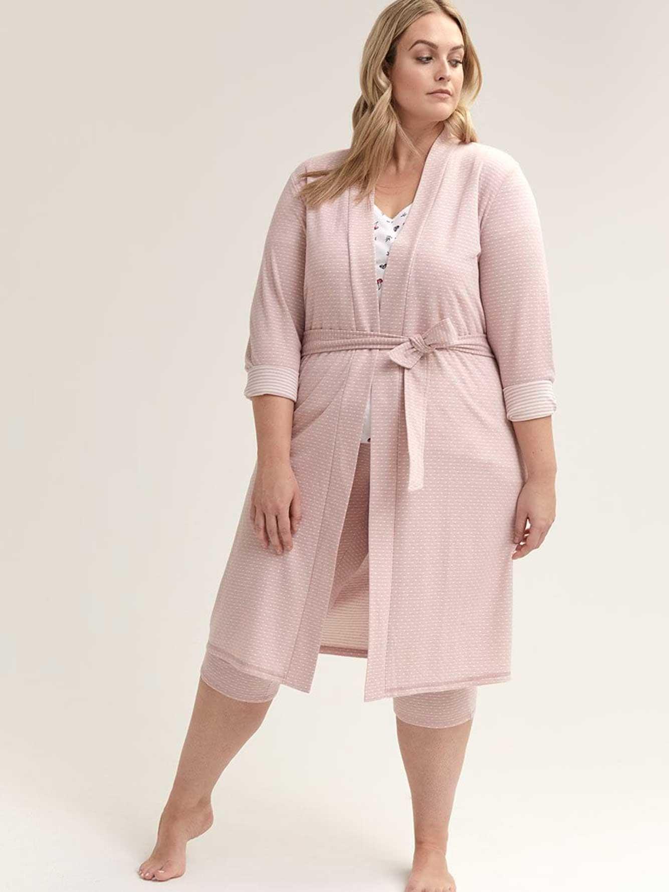 Voglio Lounge Ti Sleeve With Long Robe Belt cF1lKJT