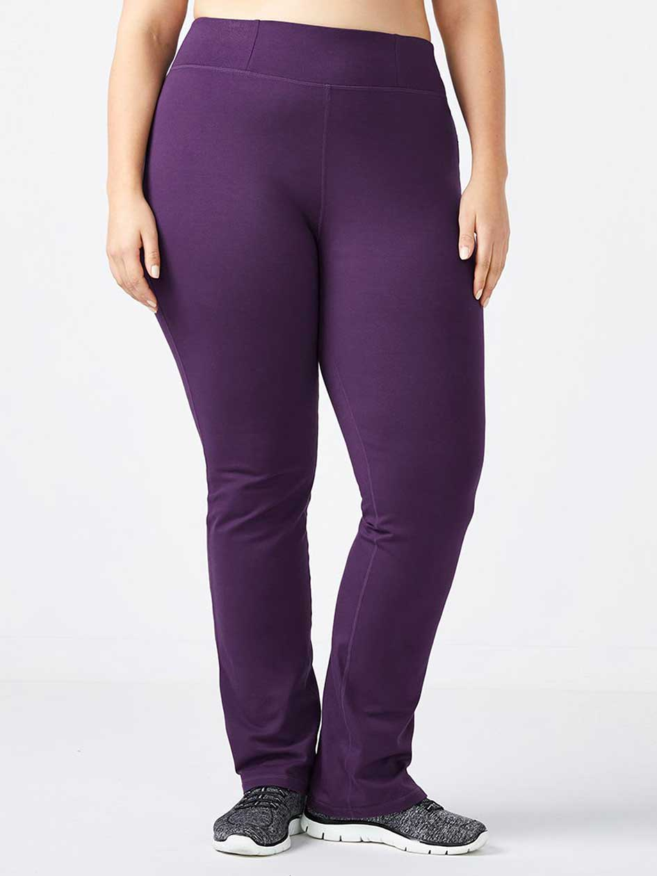 ONLINE ONLY - Plus-Size Yoga Pant - Essentials
