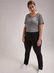 ONLINE ONLY - Tall Plus-Size Basic Yoga Pant - ActiveZone