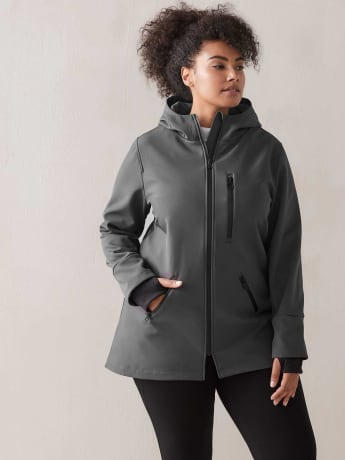 Short Soft Shell Jacket - Addition Elle