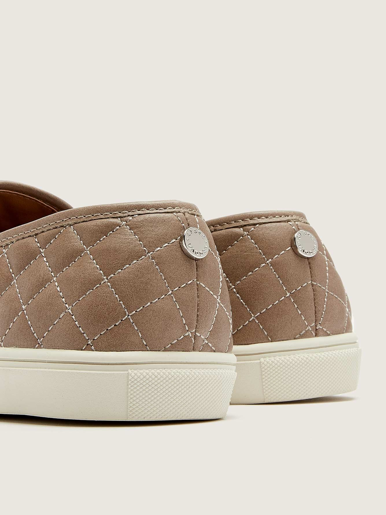 Wide Ecentriq Quilted Slip-On Sneaker