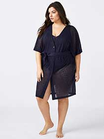 Swim Cover-Up - Sea