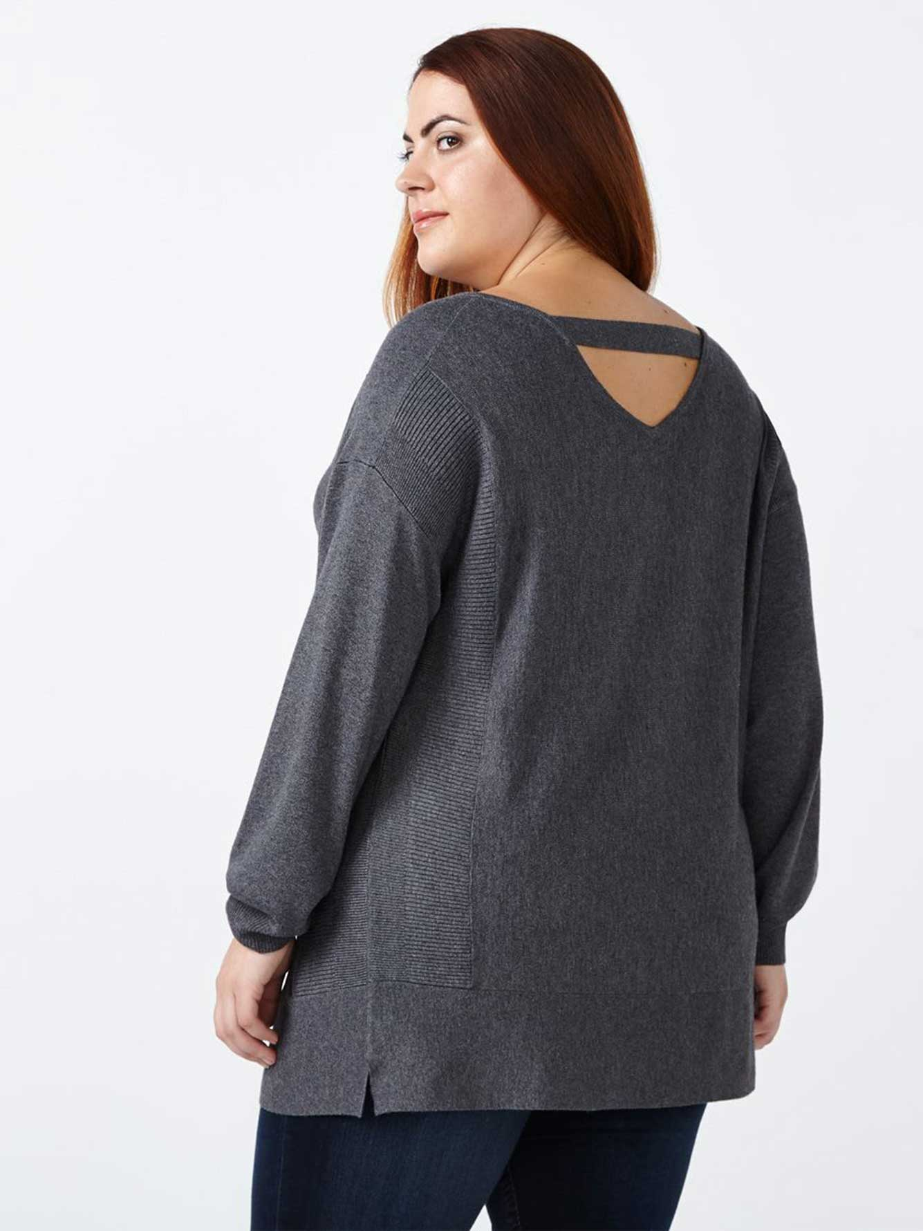 Reversible Long Sleeve Sweater  71739bc35