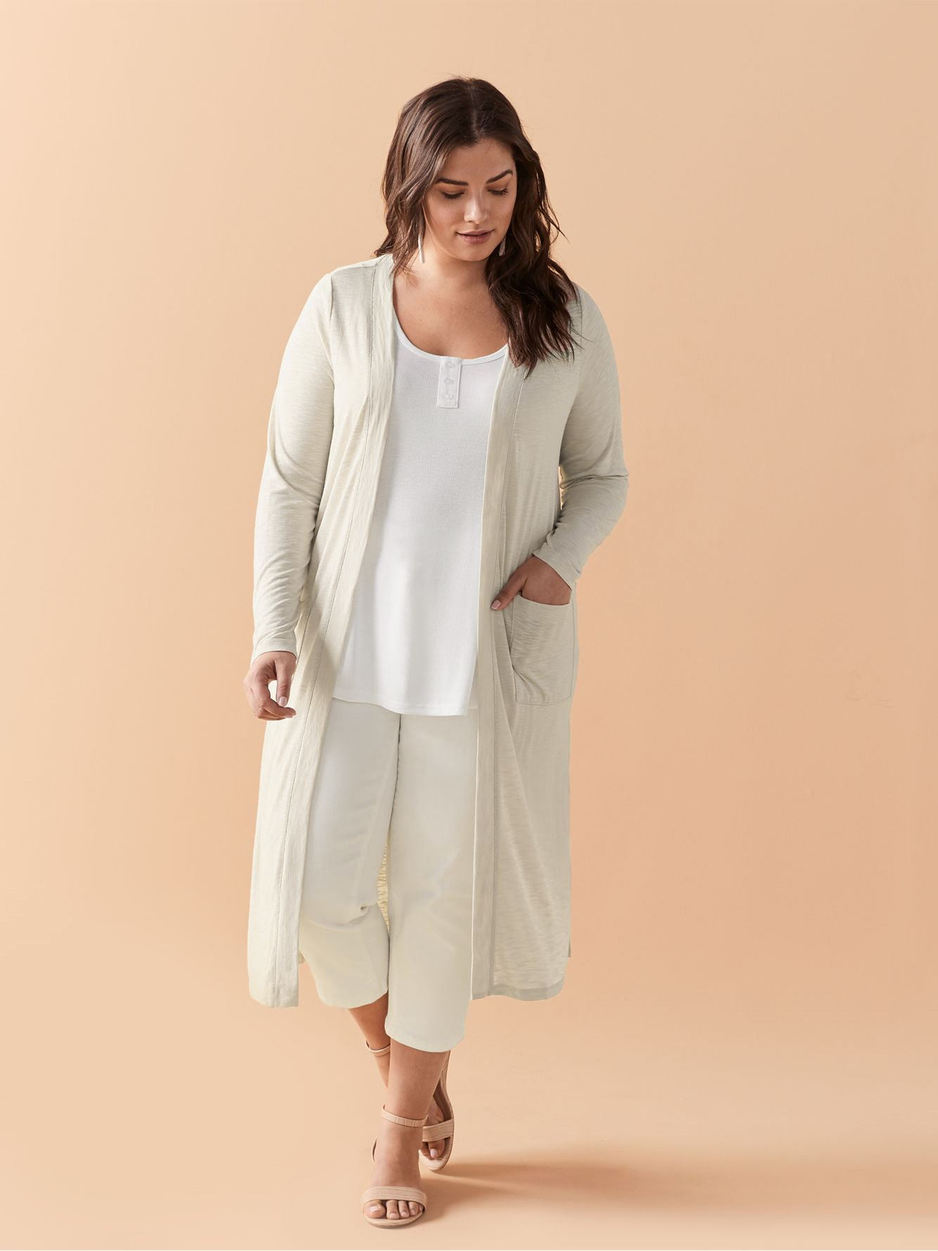 Long Snit Cardigan - In Every Story