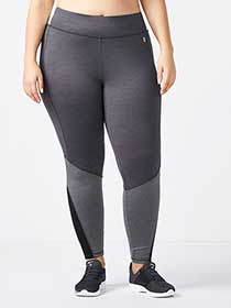 Essentials - Plus-Size Colour Block Legging