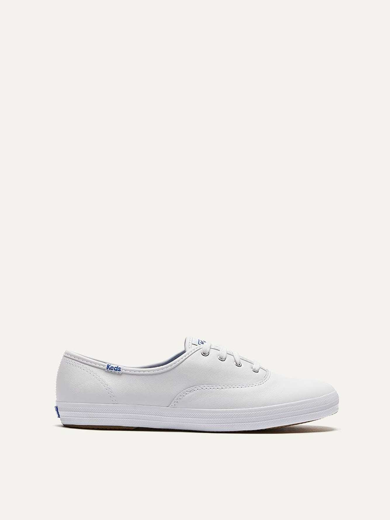 Wide Champion Oxford Leather Shoes