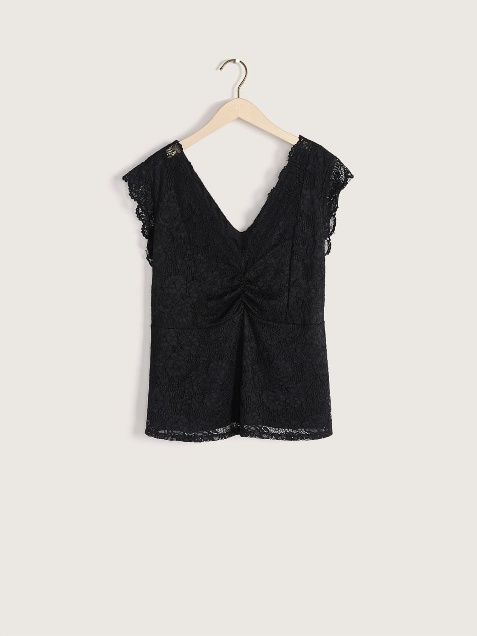 Sleeveless Lace Top - Addition Elle