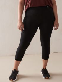 Basic Black 7/8 Legging - Addition Elle
