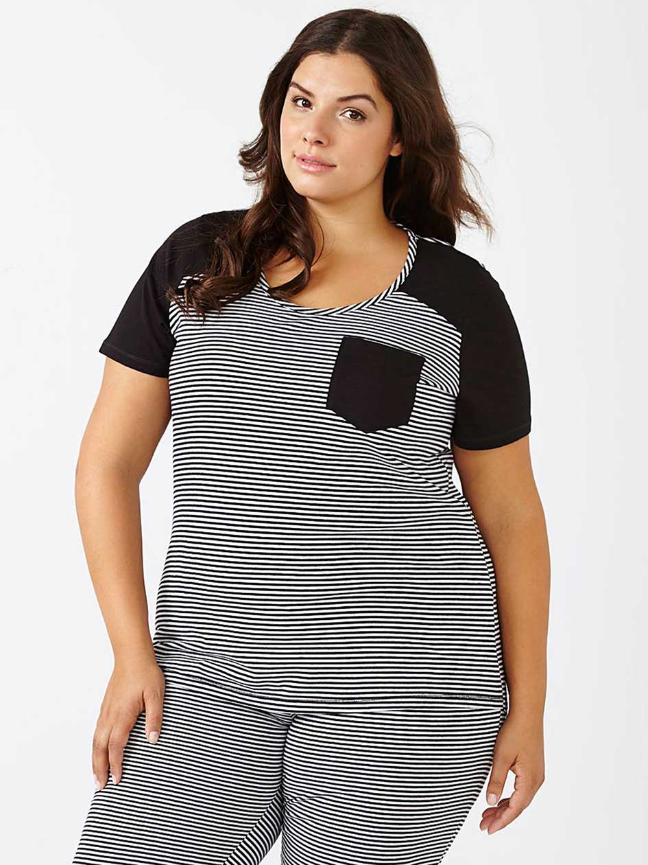 Ti Voglio Printed Cotton PJ T-Shirt