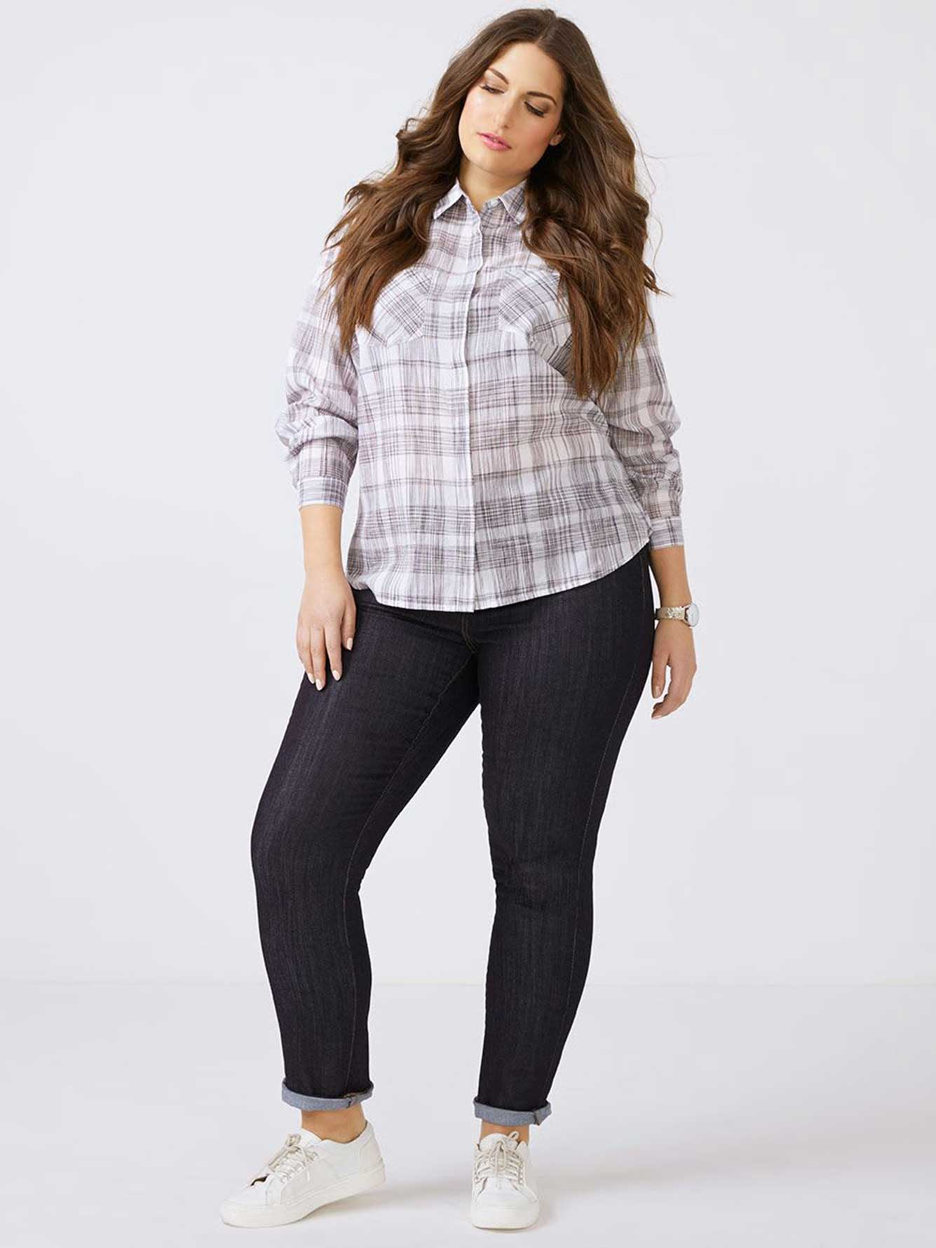 Cotton Plaid Shirt - d/c JEANS