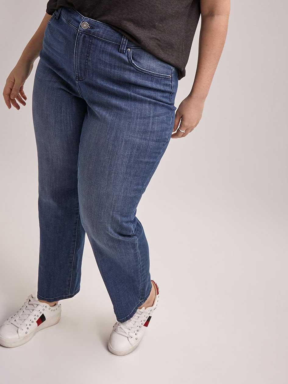 2a94f7513f1 Petite Curvy Fit Straight Leg Jean - d C JEANS