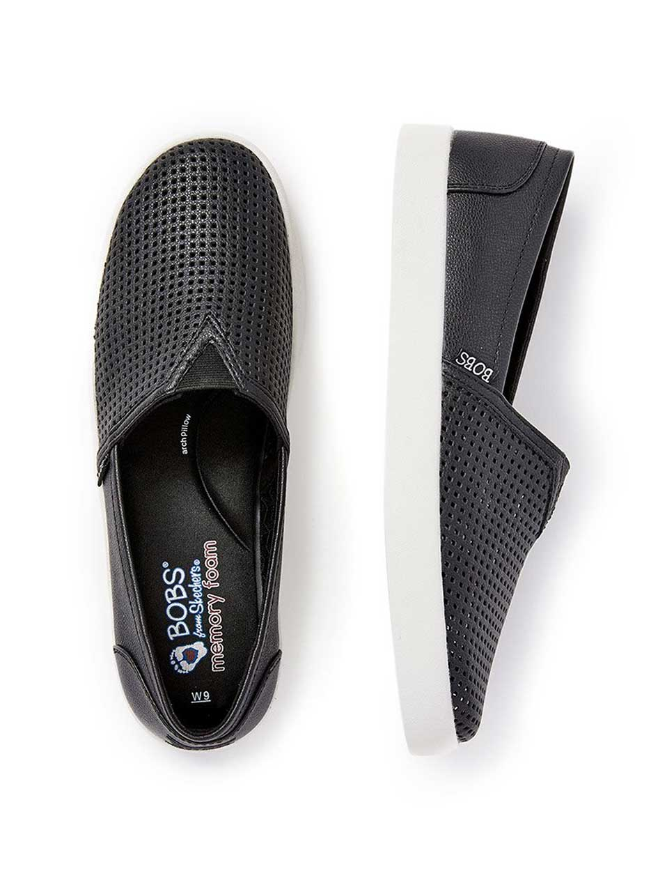 Wide-Width Perforated Slip On Shoes - BOBS from Skechers
