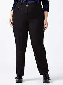 Straight Fit Straight Leg Pant