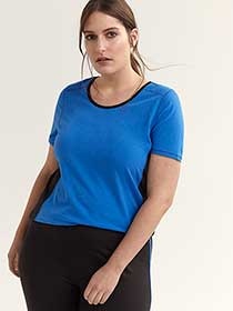 Solid Plus Size Performance T-Shirt - ActiveZone