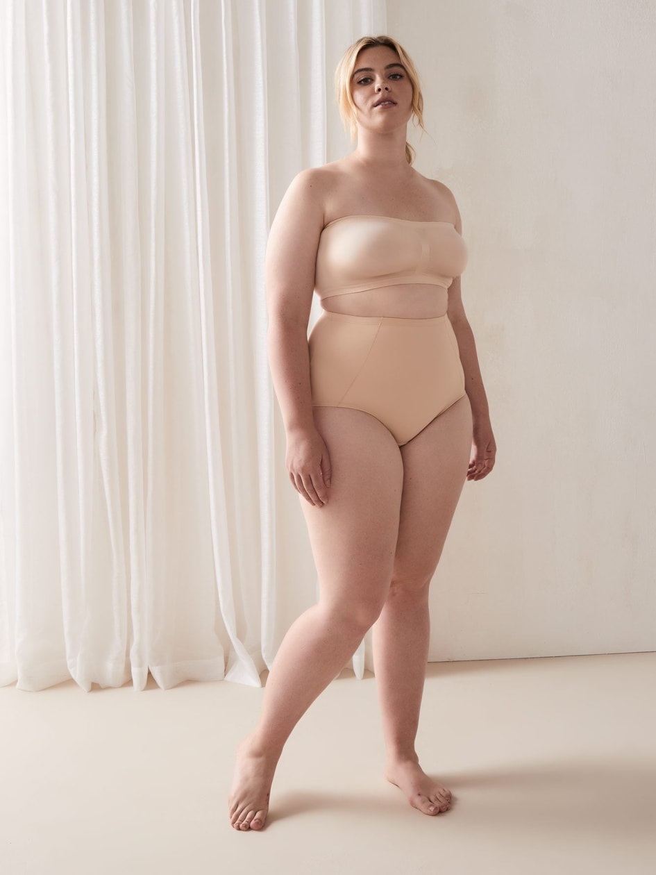 High Waist Classic Shapewear Brief Panty - ti Voglio