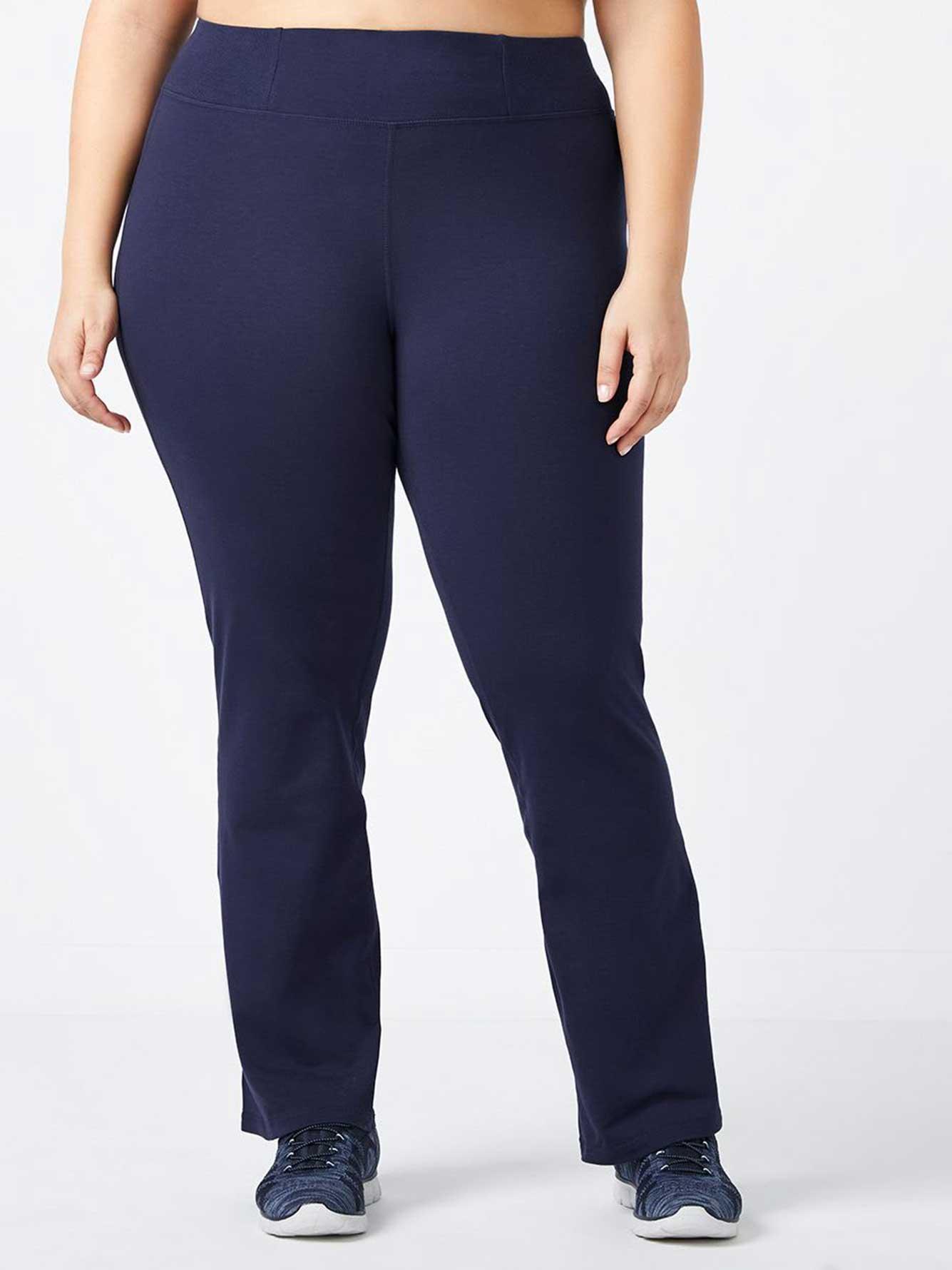 4dca0654d6688 Petite - Plus-Size Basic Yoga Pant | Penningtons