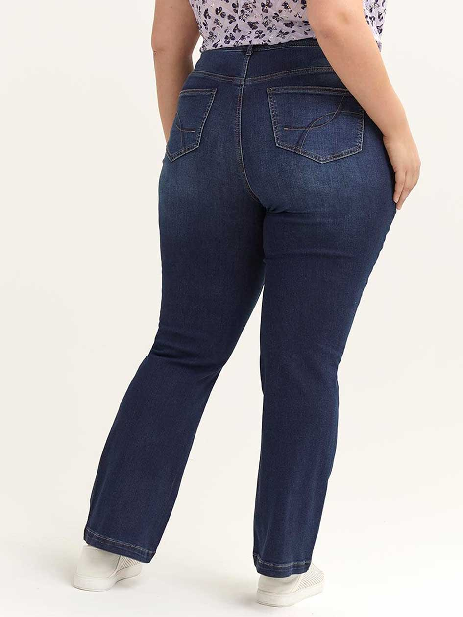Slightly Curvy Bootcut Jean - d/C JEANS