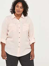 Blouse with Patch Pockets - In Every Story