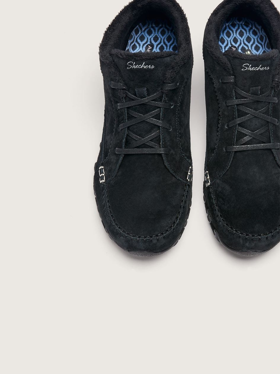 Wide Lace Up Moc Toe Chukka Boot - Skechers