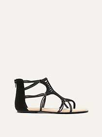 Extra Wide Flat Multi-Cord Sandals