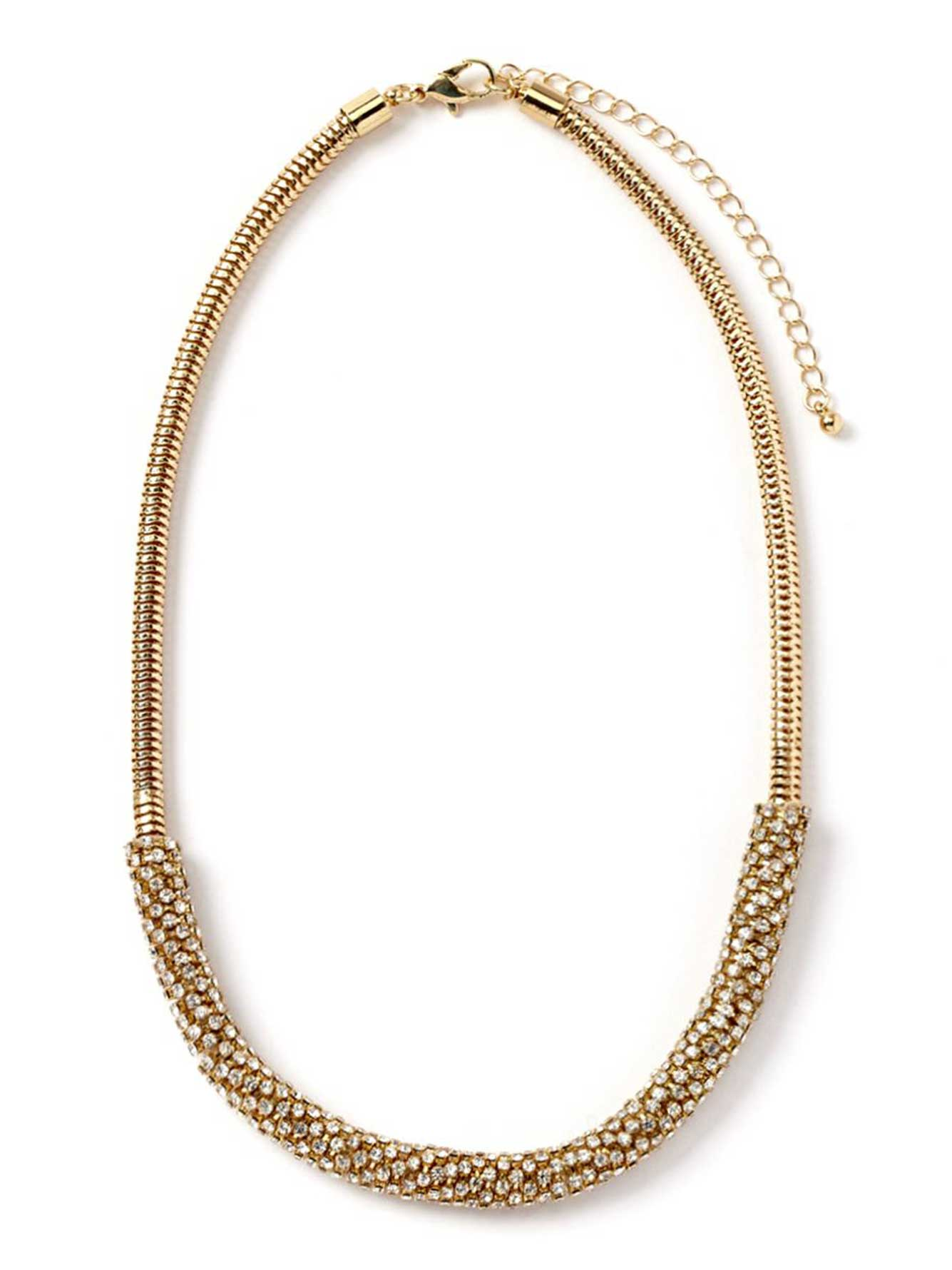 Short Snake Chain Necklace