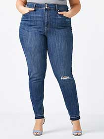 ONLINE ONLY - Tall Slightly Curvy Fit Skinny Jean - d/c JEANS