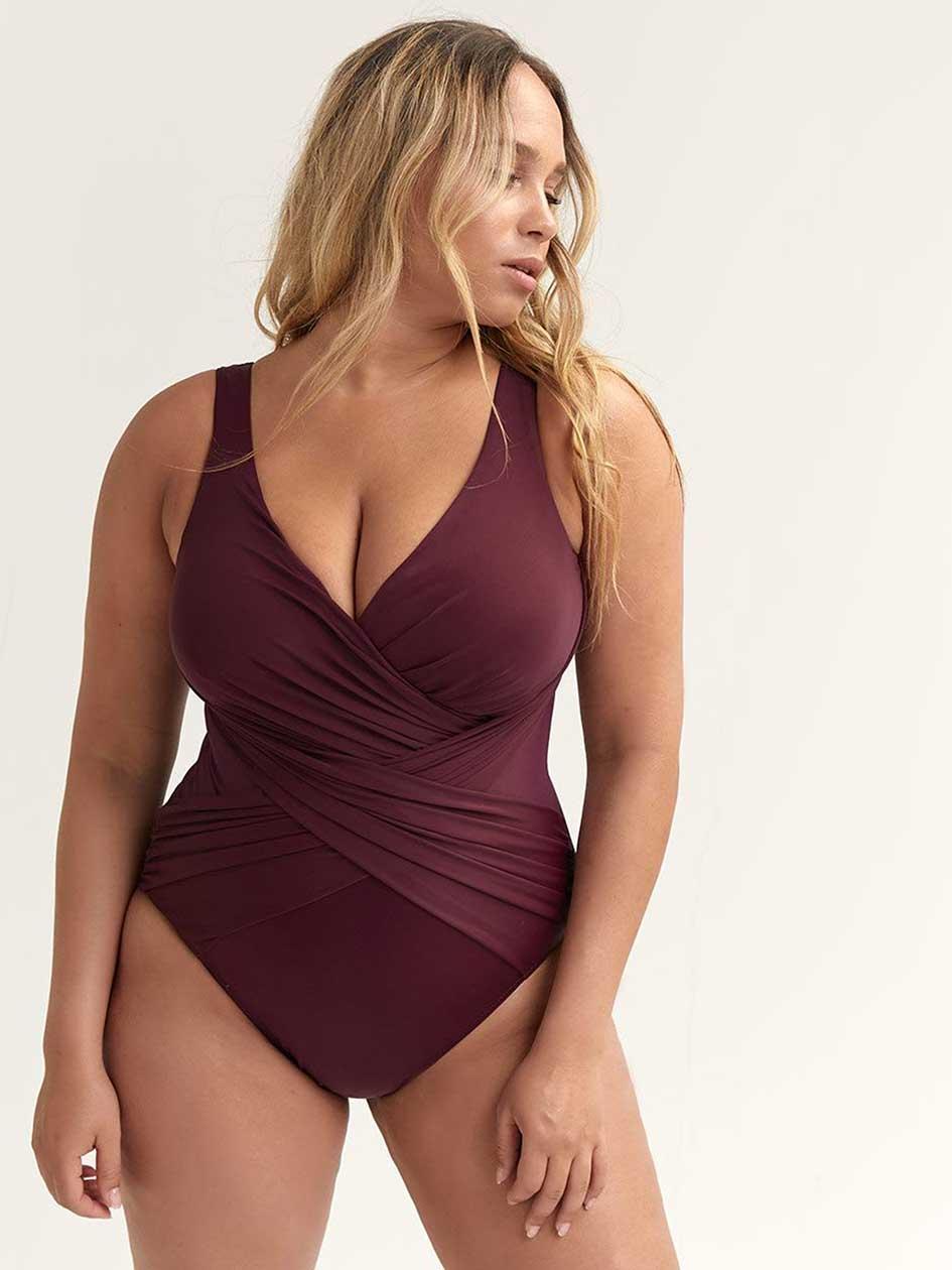 9ae166e91ca27 MiracleSuit Plus Size Swimwear | Penningtons Canada