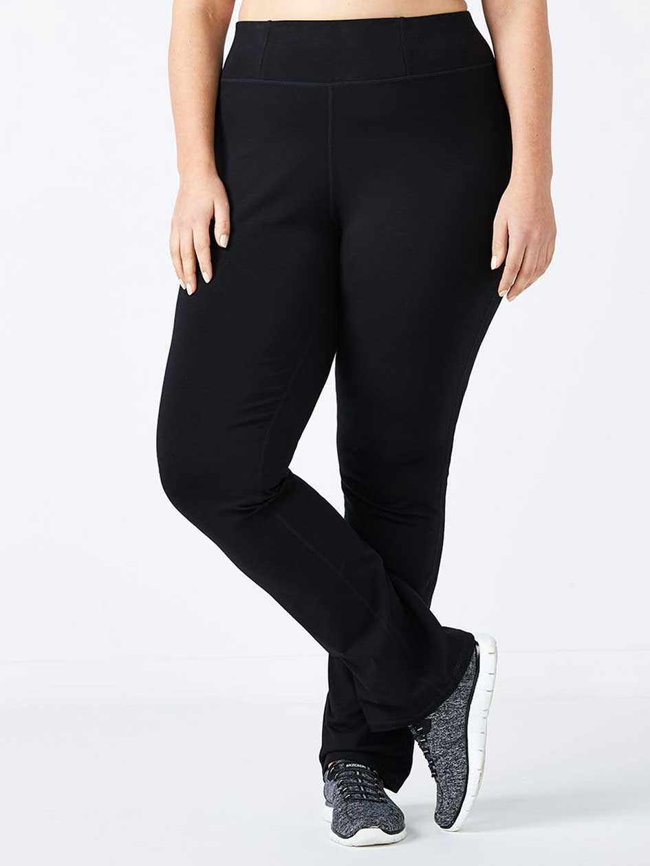 2220bdf431a76 Plus-Size Basic Yoga Pant - ActiveZone