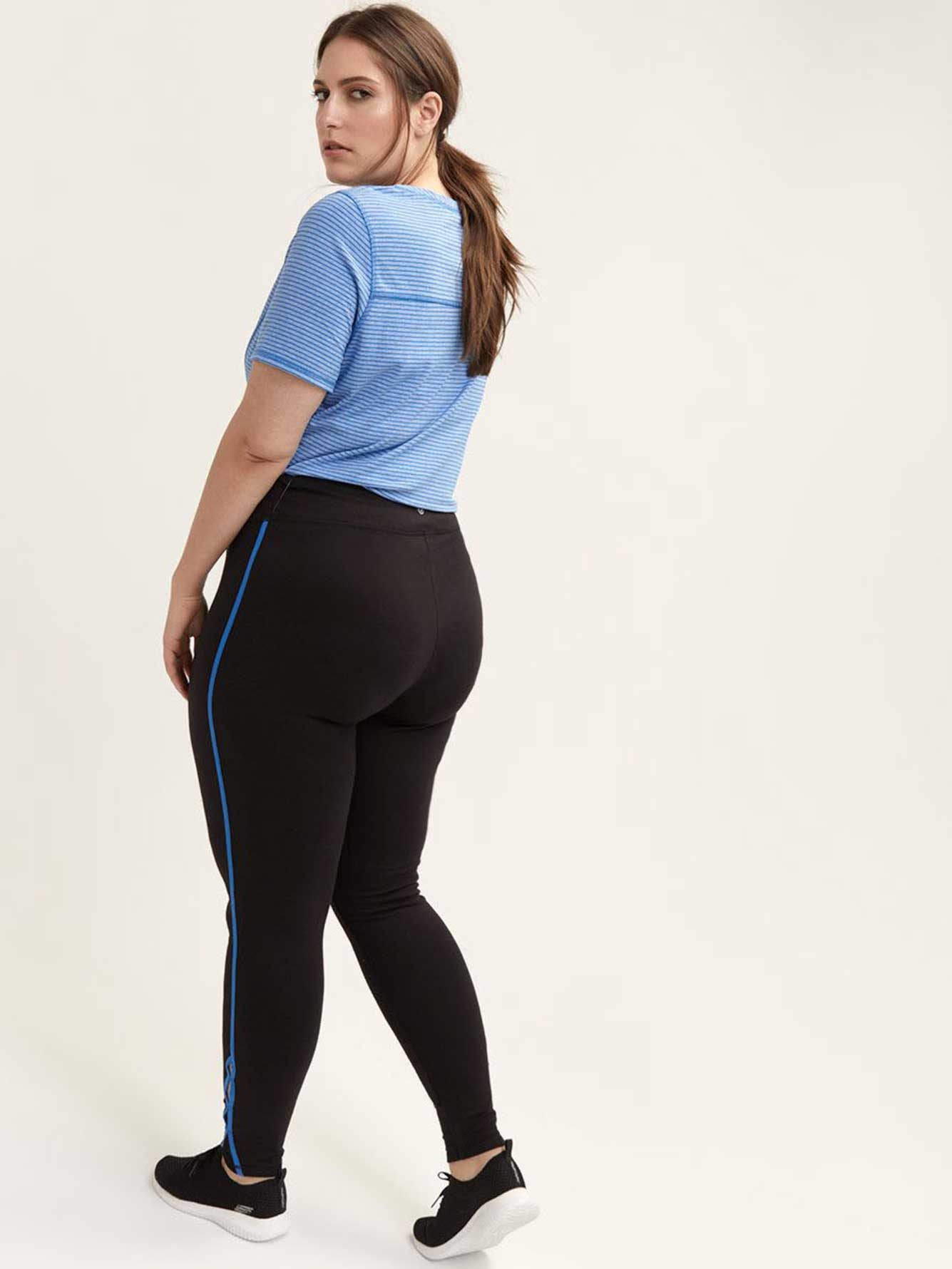 Tall Legging with Side Stripe & Keyhole Detail - ActiveZone