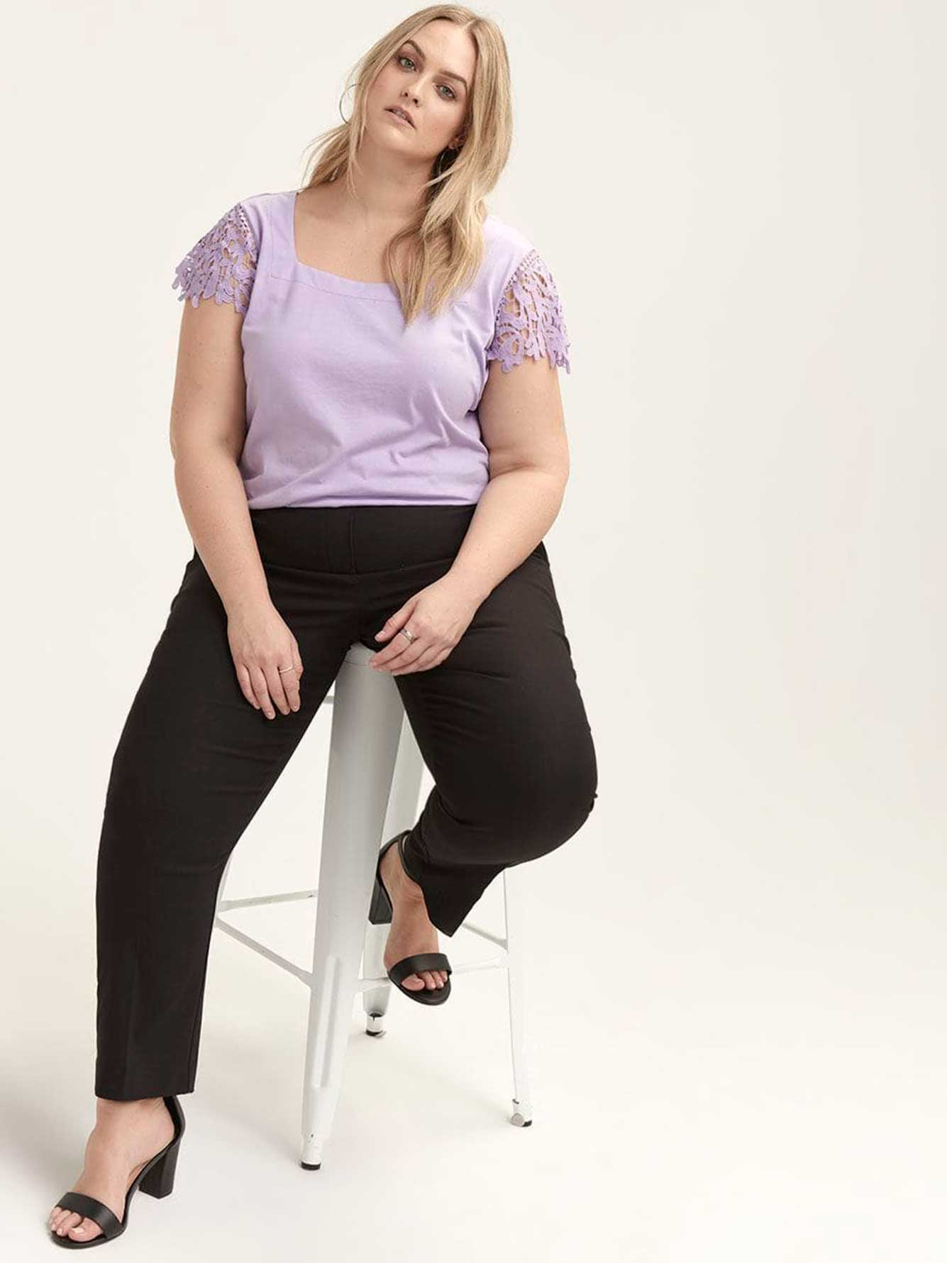 ONLINE ONLY - Tall Savvy Soft Touch Straight Leg Pant - In Every Story
