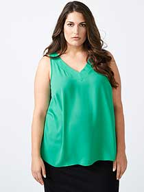Cami Blouse with Strap Detail - In Every Story