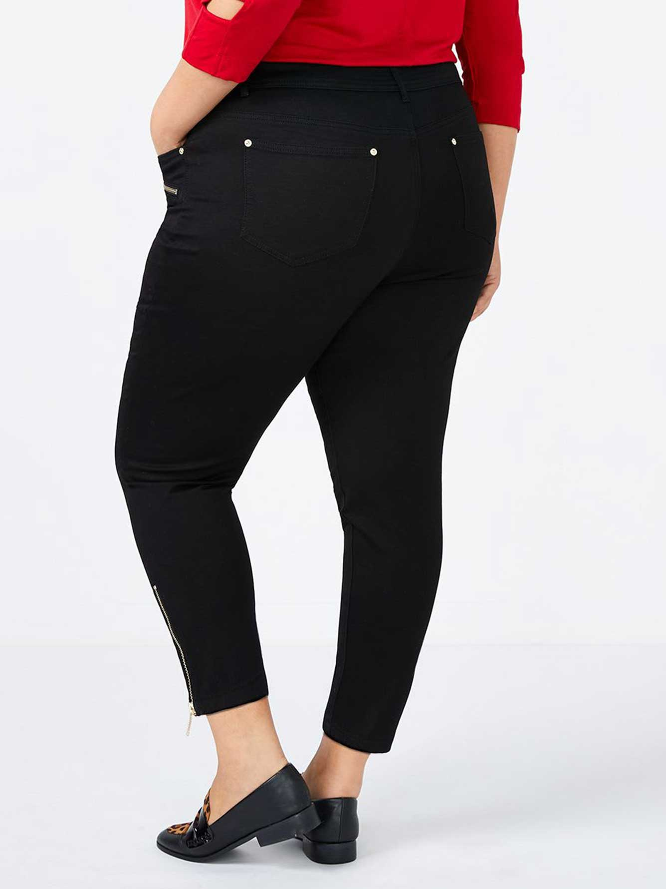 Petite Slightly Curvy Fit High Waisted Skinny Jean - d/c JEANS