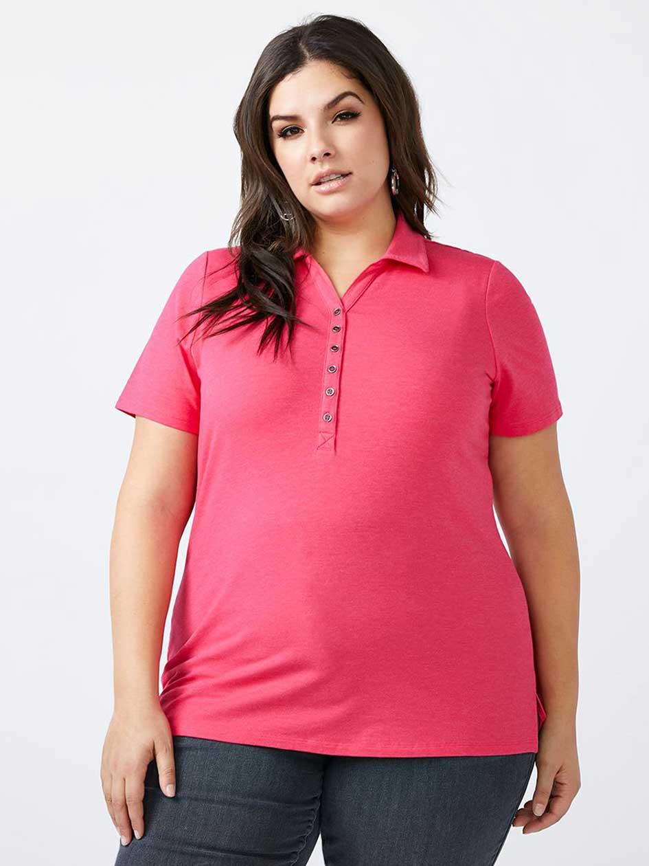 Curve Fit Polo T-Shirt
