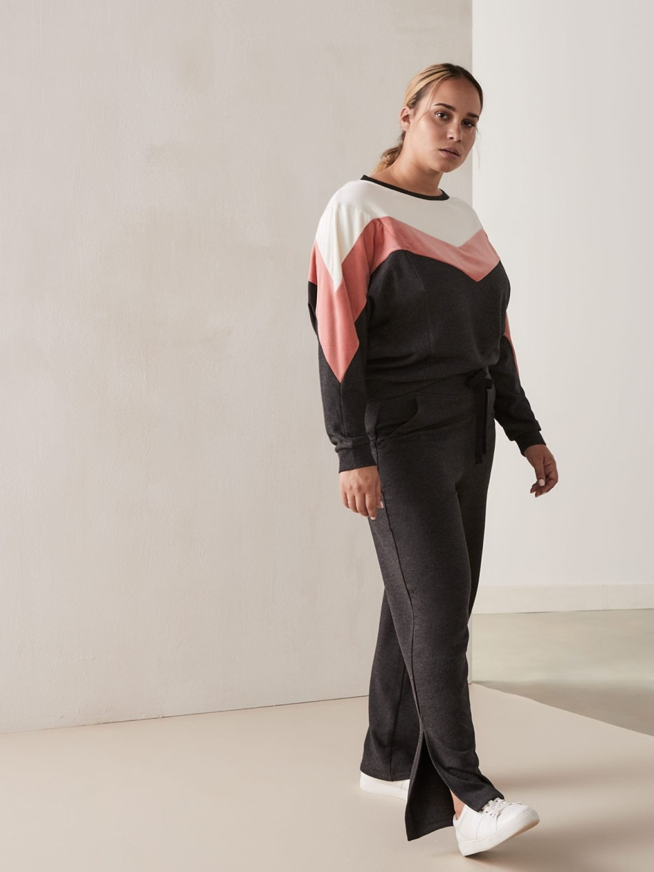 Color-Block Sweatshirt - Activezone