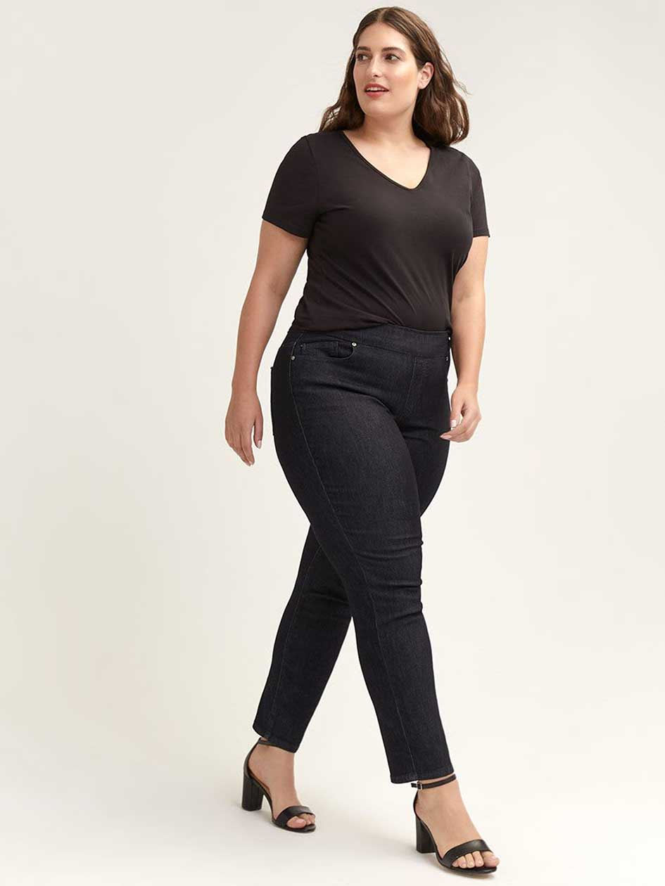 015928ce691 Petite Savvy Straight Leg Denim Pant - d C Jeans