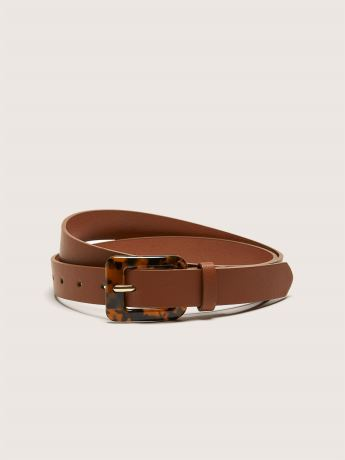 Belt with Tortoise Buckle - Addition Elle