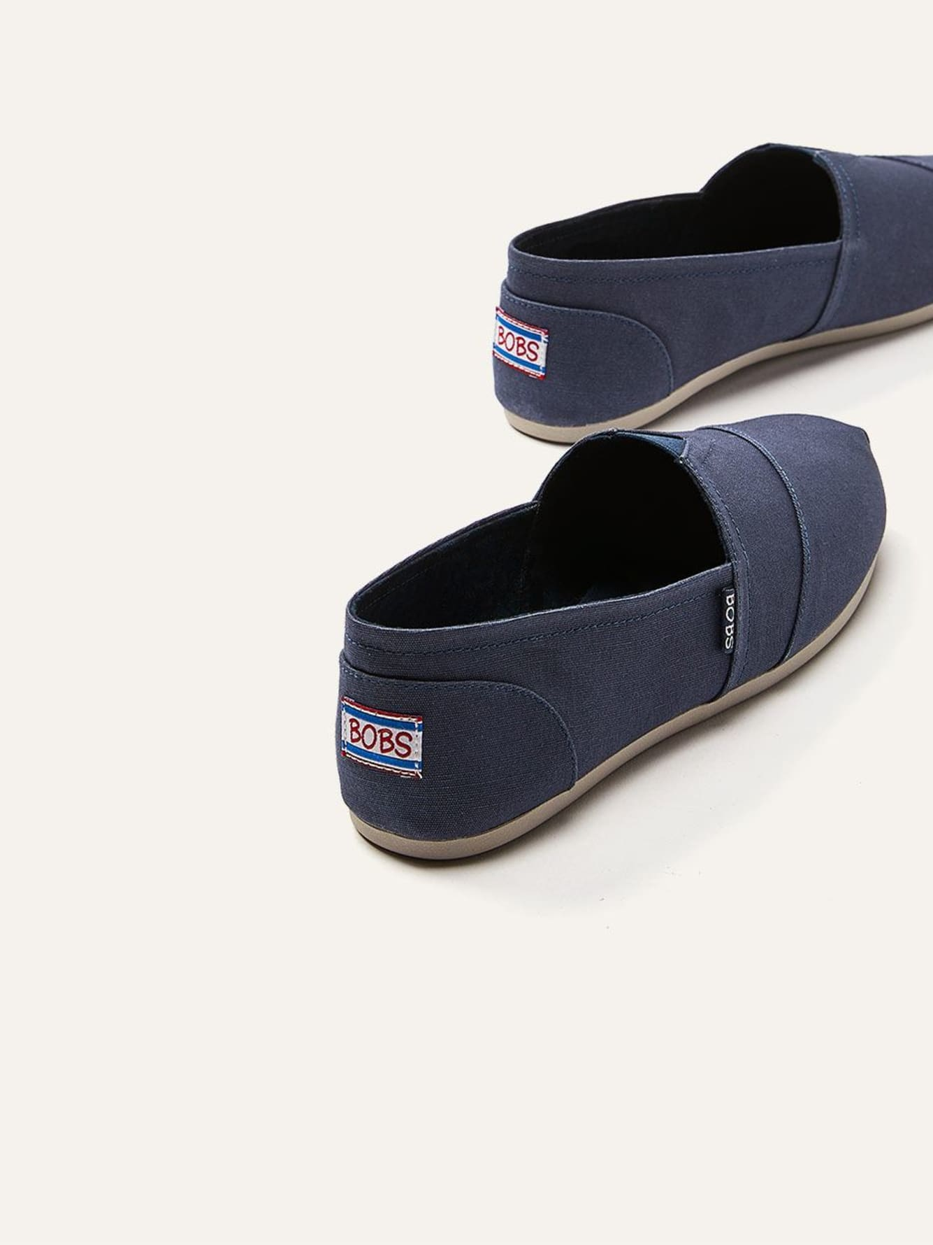 792af517a43c BOBS by Skechers - Slip On Canvas Peace and Love Shoe - Online Only ...