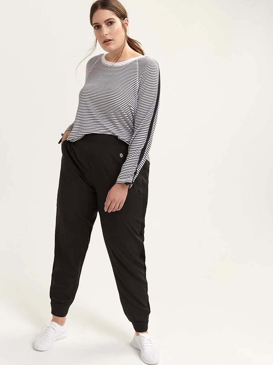 444f1a26b8 Tall - Jogger Pant with Side Ribbing - ActiveZone