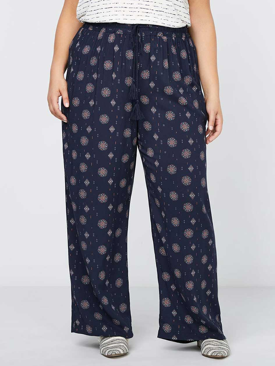 Wide Leg Printed Pant - In Every Story