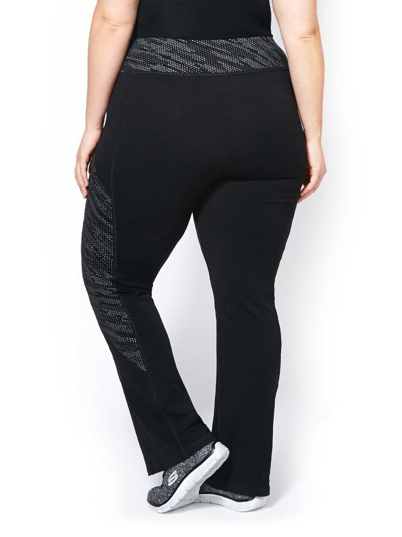 d853b2b4866 Essentials - Plus-Size Printed Yoga Pant