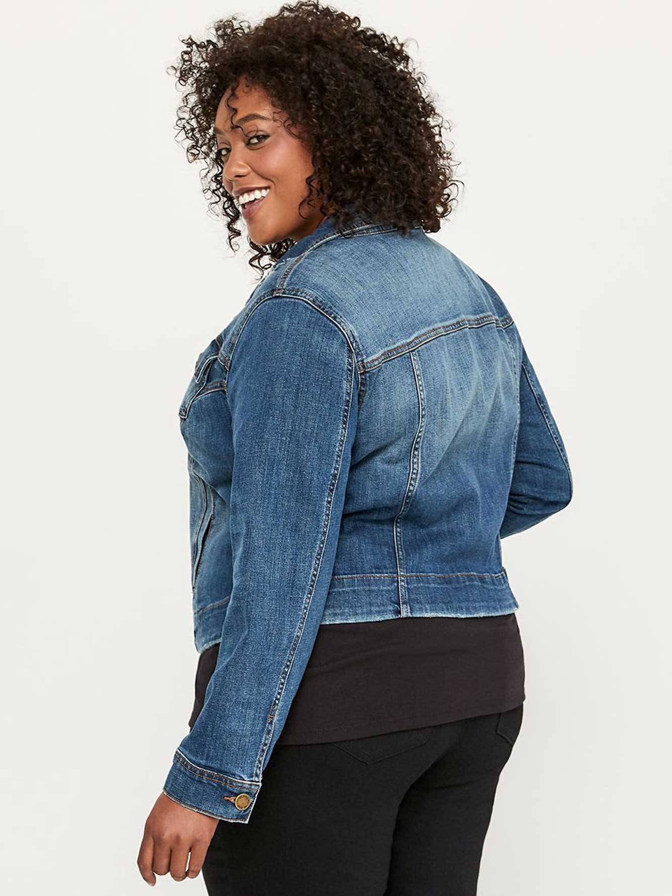 841cb00d4de2 Long Sleeve Denim Jacket - d C JEANS