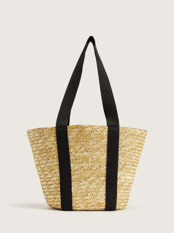 Straw Beach Bag - Addition Elle