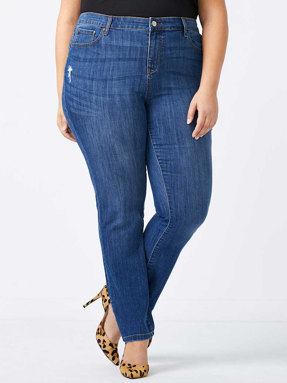 ONLINE ONLY - Tall Straight Fit Straight Leg Jean - d/c JEANS