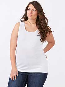 Curve Fit Basic Tank Top