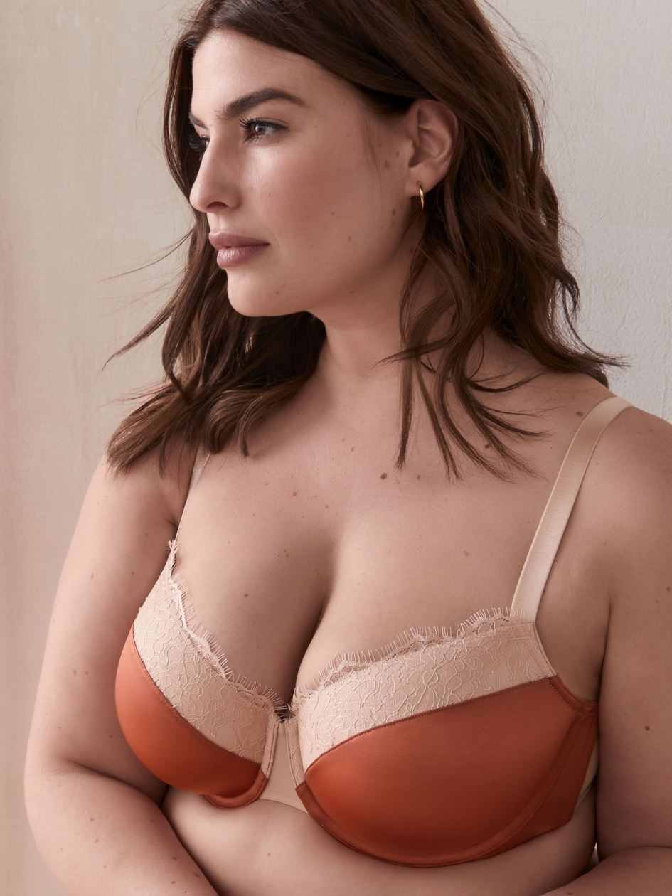Demi Cup Bra with Lace