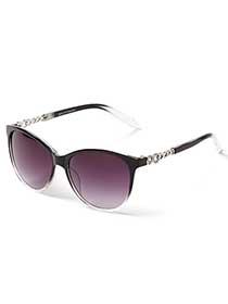 Sunglasses with Metallic Detail