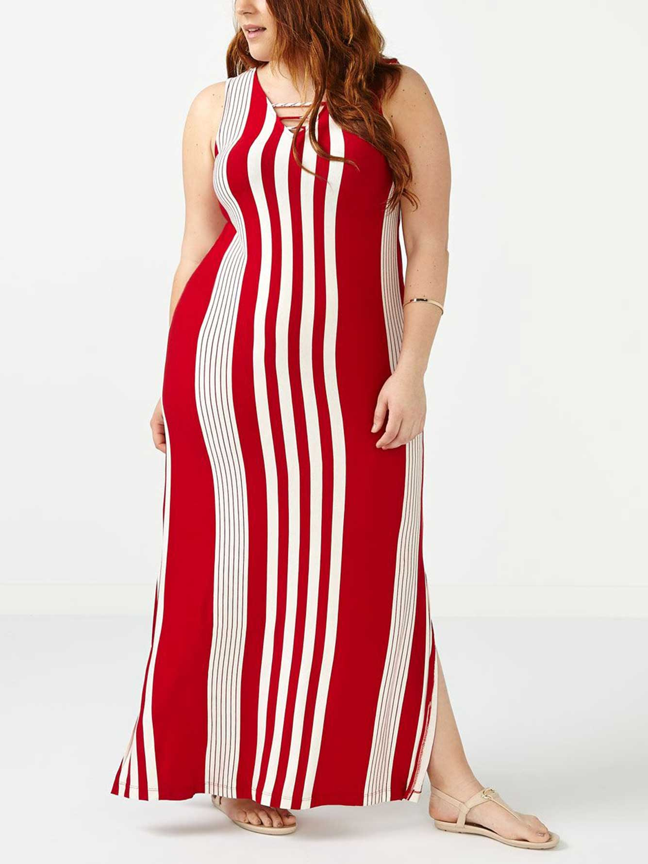 7fec65cd4d8 ONLINE ONLY Striped Maxi Dress | Penningtons
