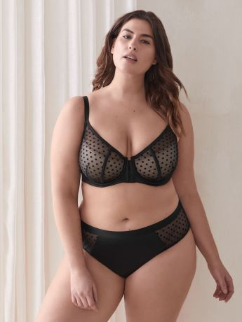 Front Closure Demi Cup Bra - Ashley Graham