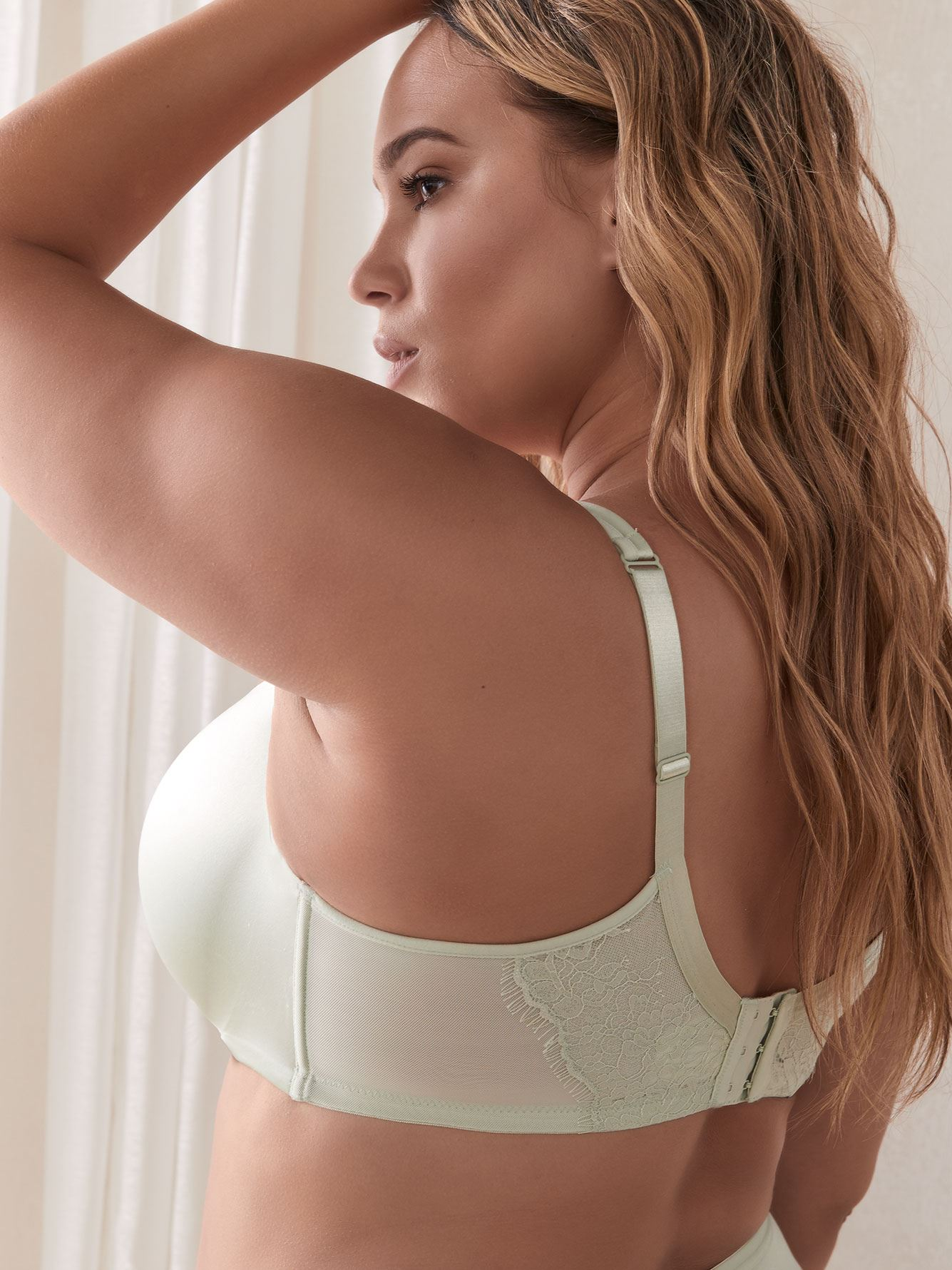 Contour T-Shirt Bra with Lace