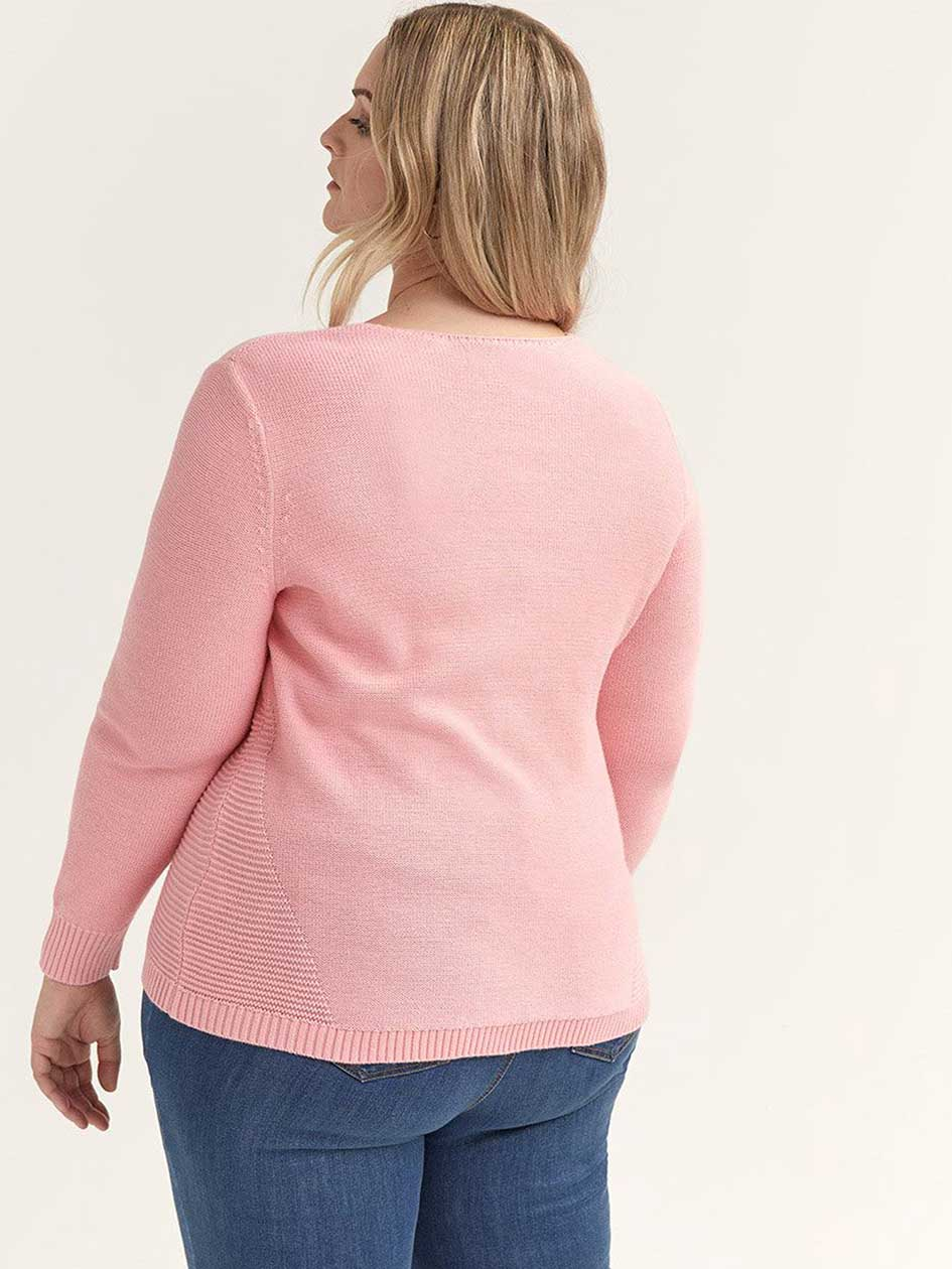 Long Sleeve Cotton Sweater - In Every Story